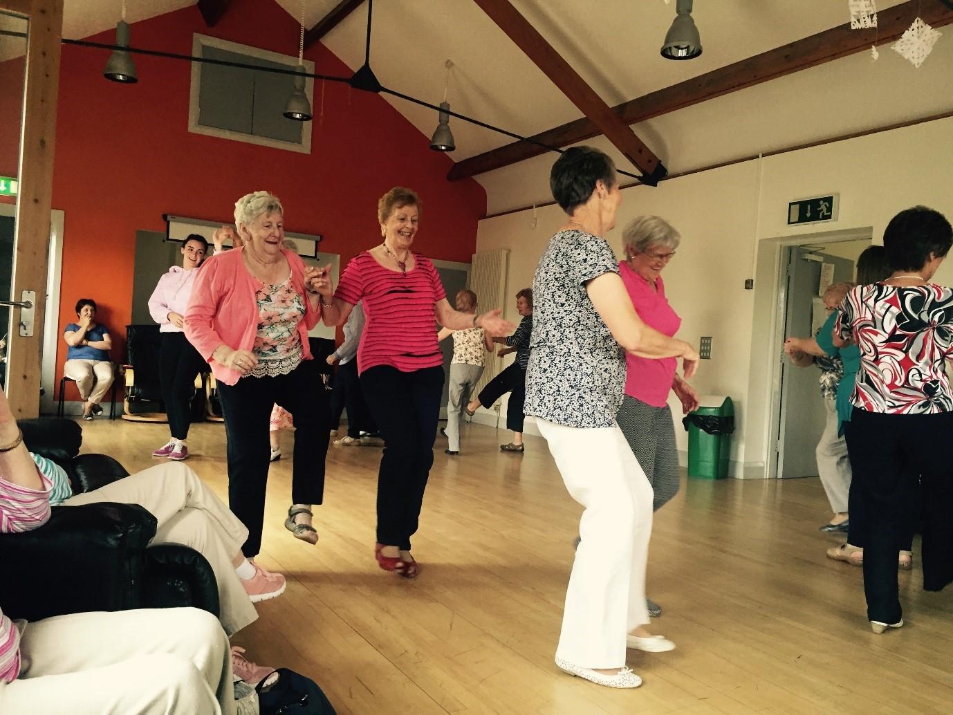 Healthy Living Lets Dance ... TEA DANCING 3