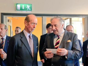 HRH Duke of Kent with our Chairman Richard Scott